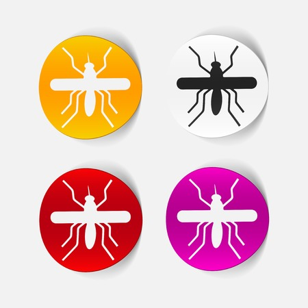 realistic design element: mosquito Stock Vector - 25627590