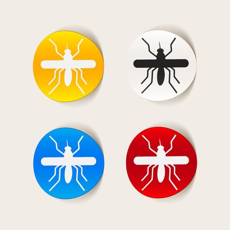 realistic design element: mosquito Stock Vector - 25627596