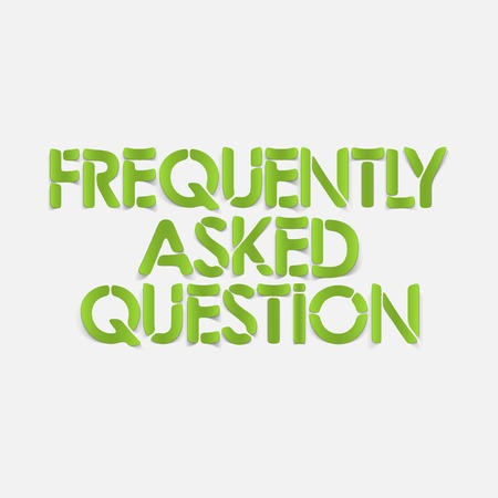 frequently asked question: realistic design element: frequently asked question