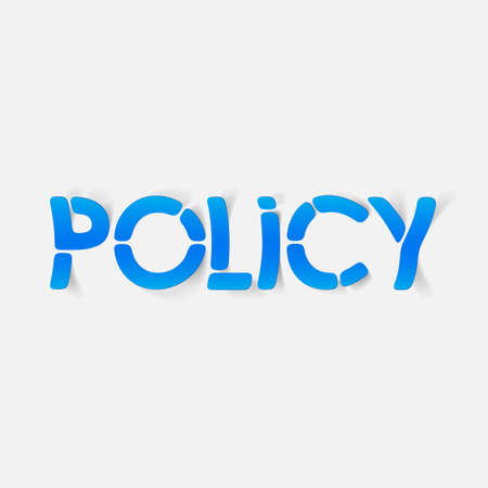 realistic design element: policy