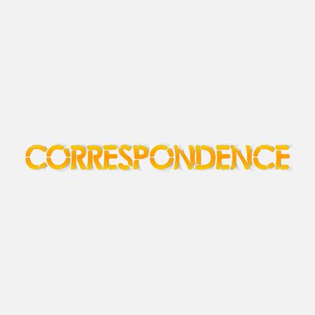 correspondencia: realista elemento de dise�o: la correspondencia