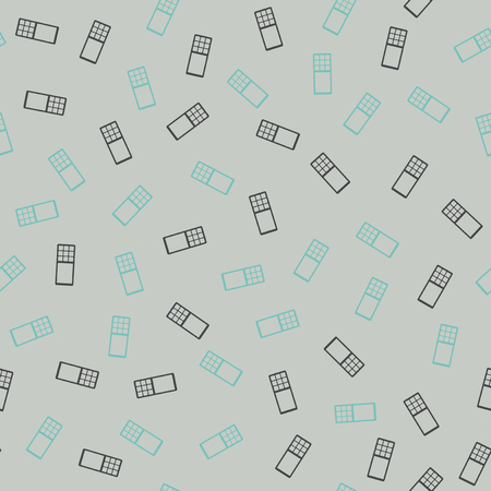 seamless background: phone, mobile Vector