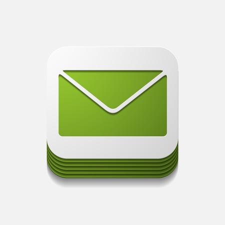 vierkante knop: nieuwsbrief