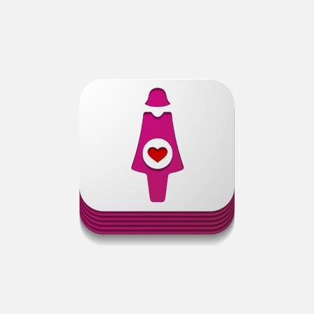 square button: pregnant