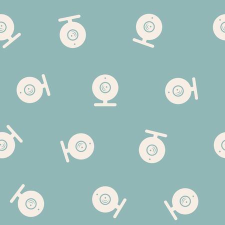 webcam: seamless background: webcam