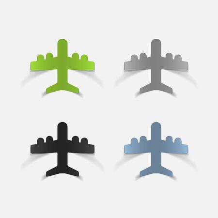 flight crew: realistic design element: plane