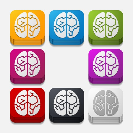 on the comprehension: square button: brain