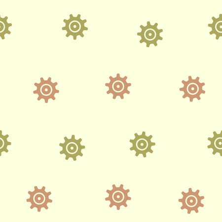 seamless background: cogwheel