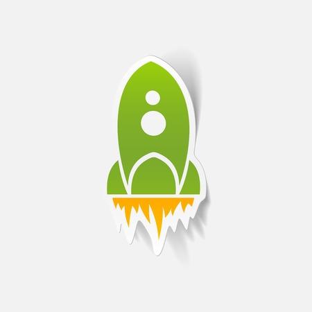 weightlessness: realistic design element: rocket