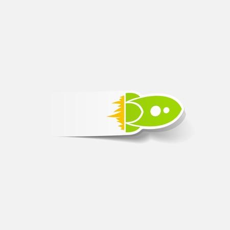supersonic: realistic design element: rocket