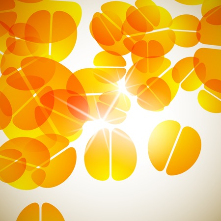 abstract background: brain Vector