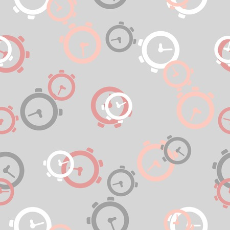 seamless background: watch Vector