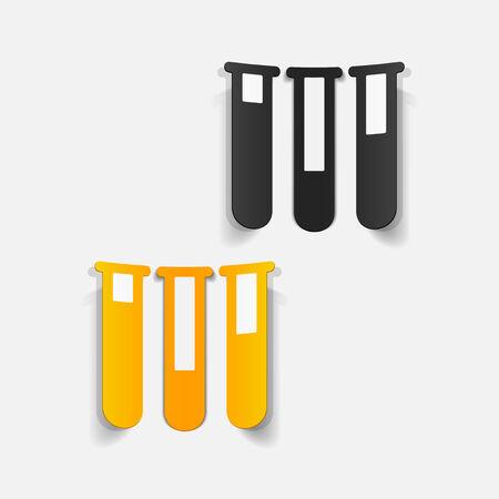 ampoule: realistic design element: tube Illustration