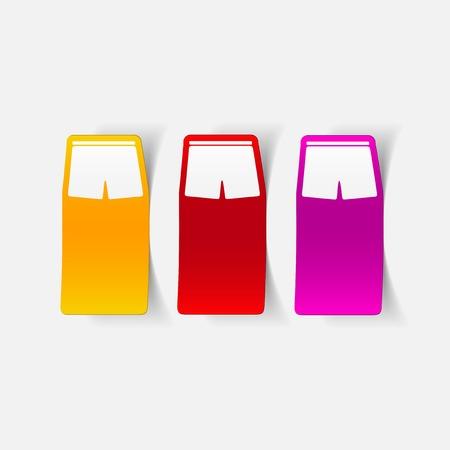 트렁크스: 사실적인 디자인 요소 : 트렁크 일러스트
