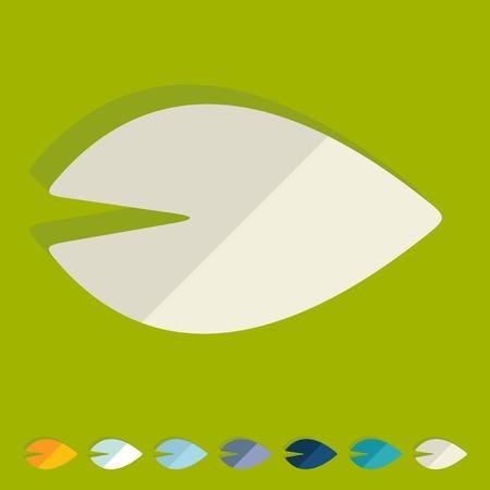 chlorophyll: Flat design in modern style Illustration