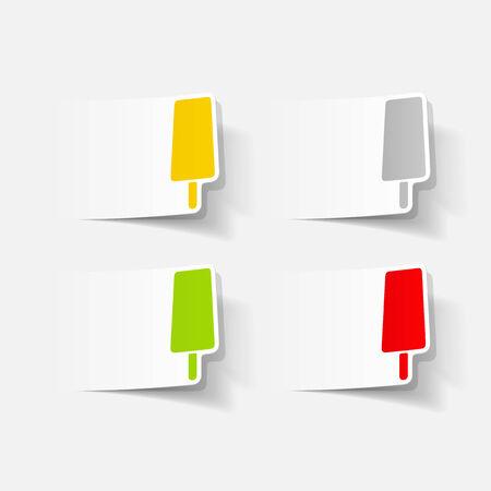 cooled: Realistic element of modern design Illustration