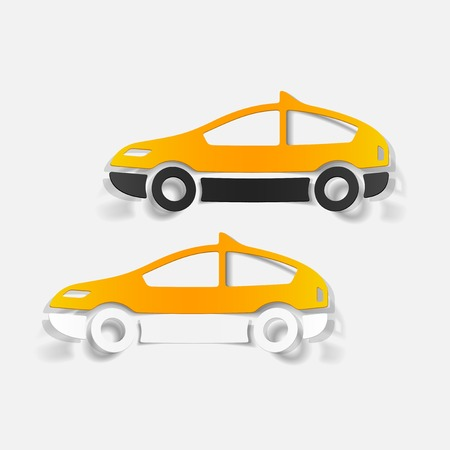 taxista: Elemento realista de dise�o moderno