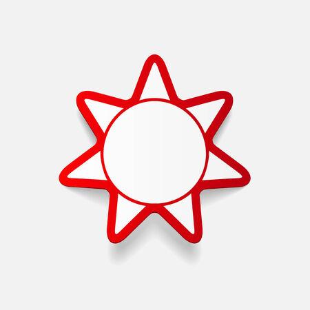 radiacion solar: Elemento realista de dise�o moderno