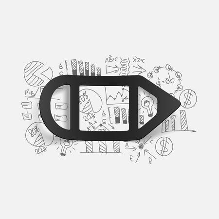 solve problem: Drawing business formulas: pencil