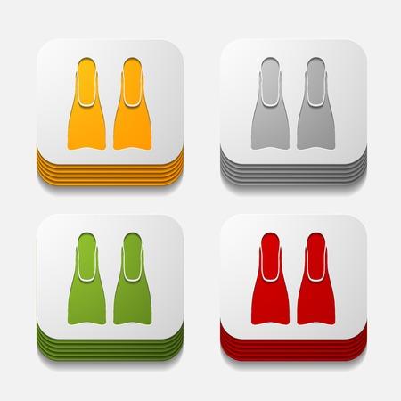 square button: flipper Illustration