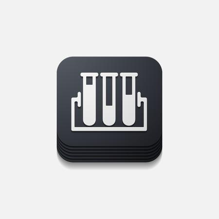 square button: tube