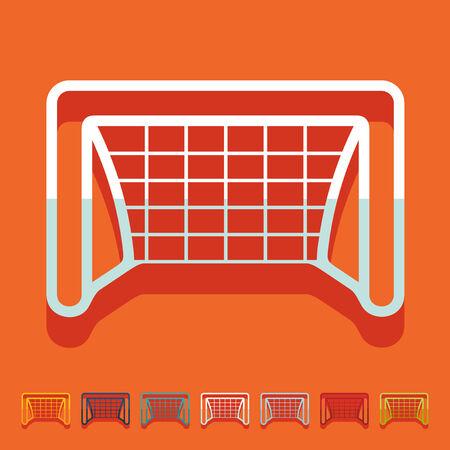 showground: Flat design: gate