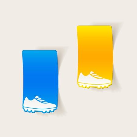 keds: realistic design element: sneakers
