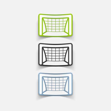 realistic design element: gate Stock Vector - 29257941