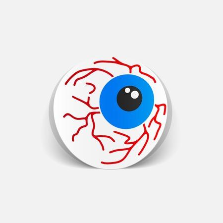 crystalline lens: realistic design element: eye