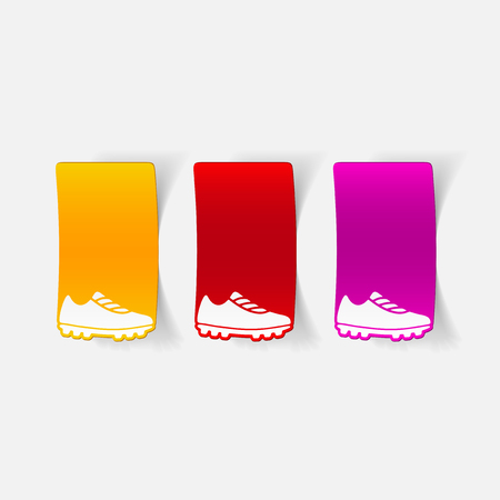 realistic design element: sneakers