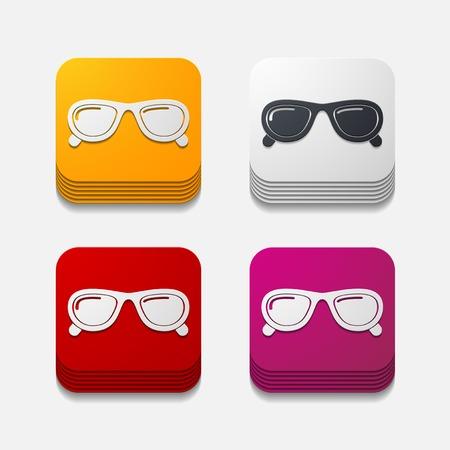 miopia: pulsante quadrato: gli occhiali da sole