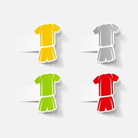 duffle: realistic design element: Football clothing
