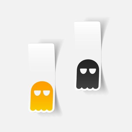 shroud: realistic design element: ghost Illustration