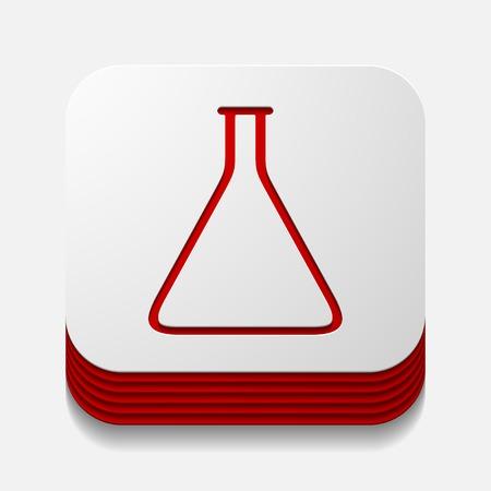 sterilization: square button: tube