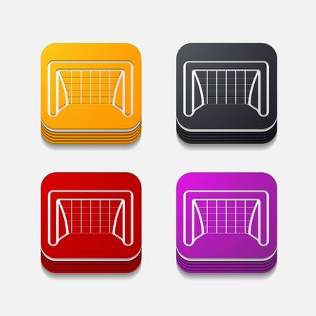 showground: square button: gate