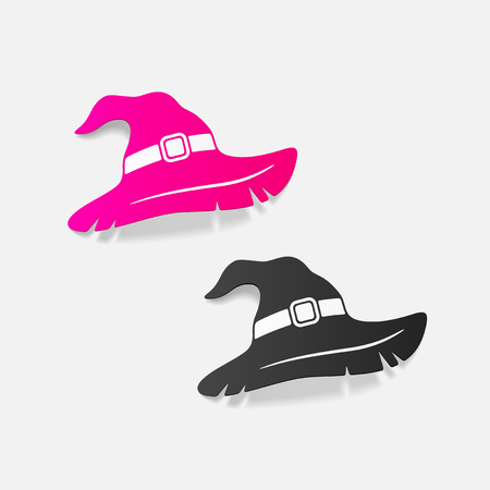 fashion story: realistic design element: witch hat