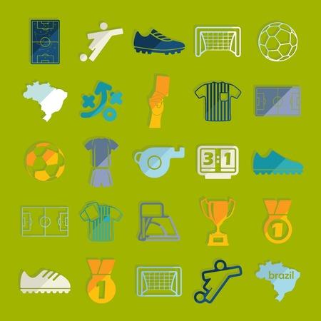 brasilia: football, soccer infographic