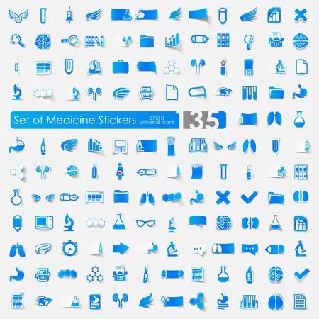 Set von medizinischen Symbole