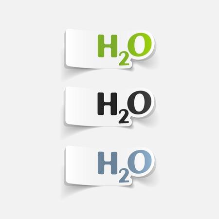 realistic design element: water Vector
