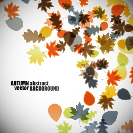 autunno background Vettoriali