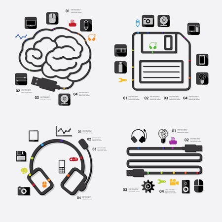 complex system: technology infographic