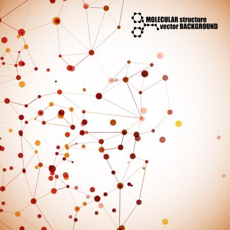 alternating organic: beautiful molecular structure
