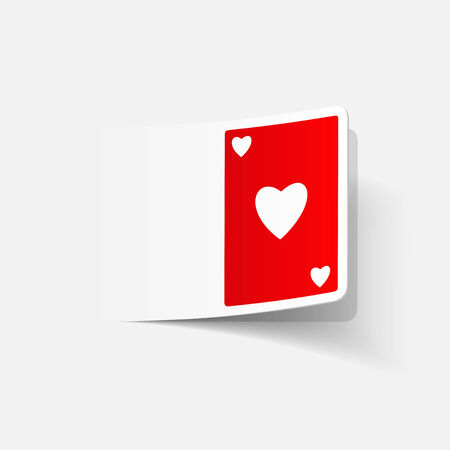 new rules: realistic design element: playing card