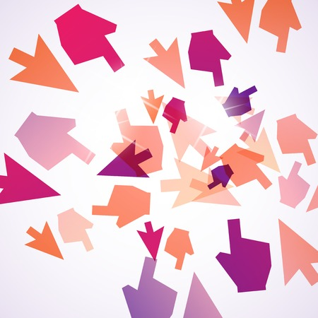 abstract background: cursor Illustration