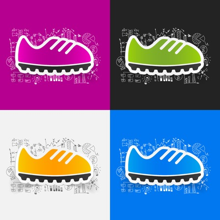 Drawing business formulas: sneakers