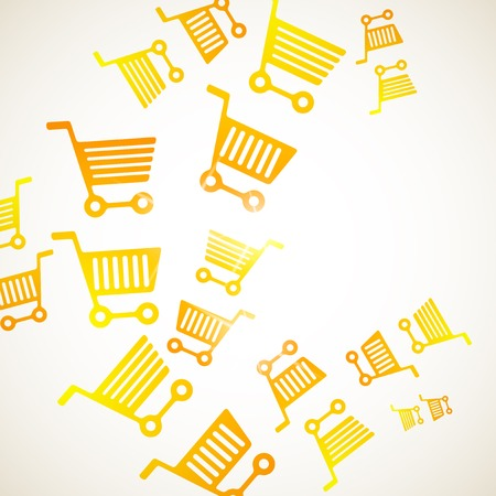 trolley: abstract background: trolley Illustration