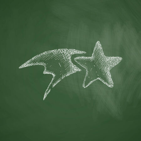 christmas star: Natale icona stella
