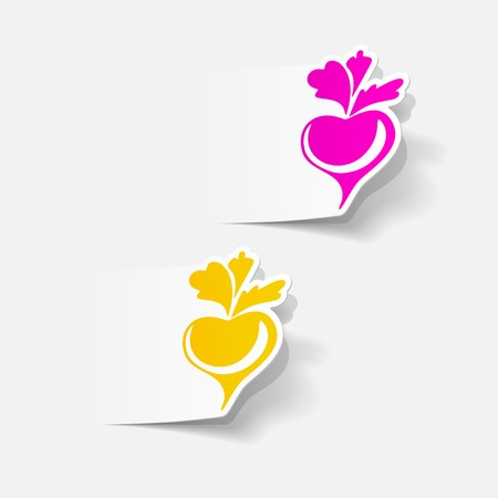 beet: realistic design element: beet