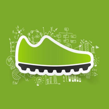 keds: Drawing business formulas: sneakers