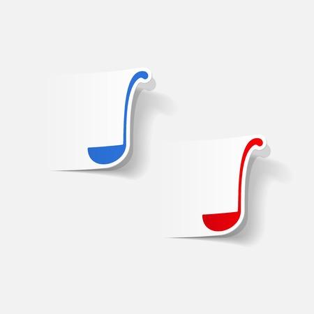 ladle: realistic design element: ladle